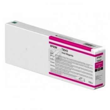 Epson Tintenpatrone magenta (C13T804300, T8043)