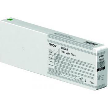 Epson Tintenpatrone schwarz light, light (C13T804900, T8049)