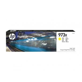 HP Tintenpatrone gelb HC (F6T83AE, 973X)