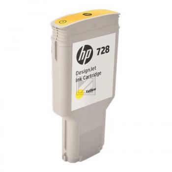 HP Tintenpatrone gelb HC plus (F9K15A, 728)