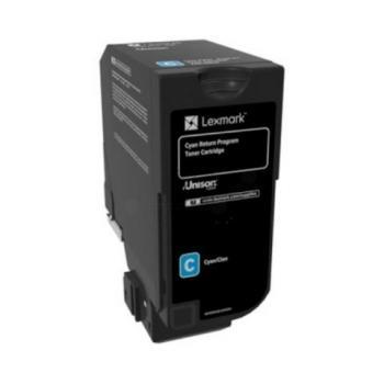 Lexmark Toner-Kit Return Return cyan HC (74C2SC0)