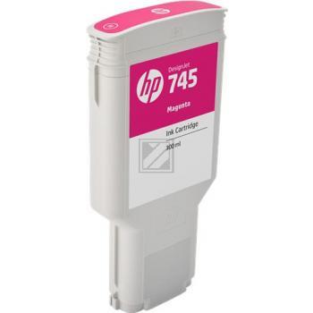 HP Tintendruckkopf magenta HC (F9K01A, 745)