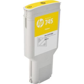 HP Tintendruckkopf gelb HC (F9K02A, 745)