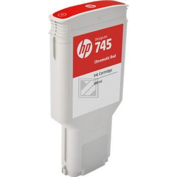 HP Tintendruckkopf chromatic rot HC (F9K06A, 745)