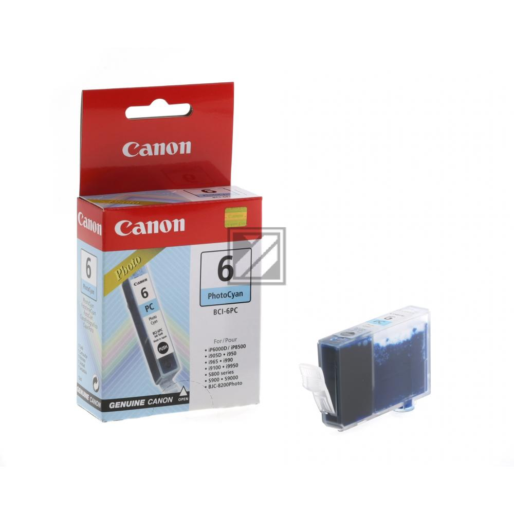 Canon Tintenpatrone Photo-Tinte Photo cyan (4709A002, BCI-6PC)