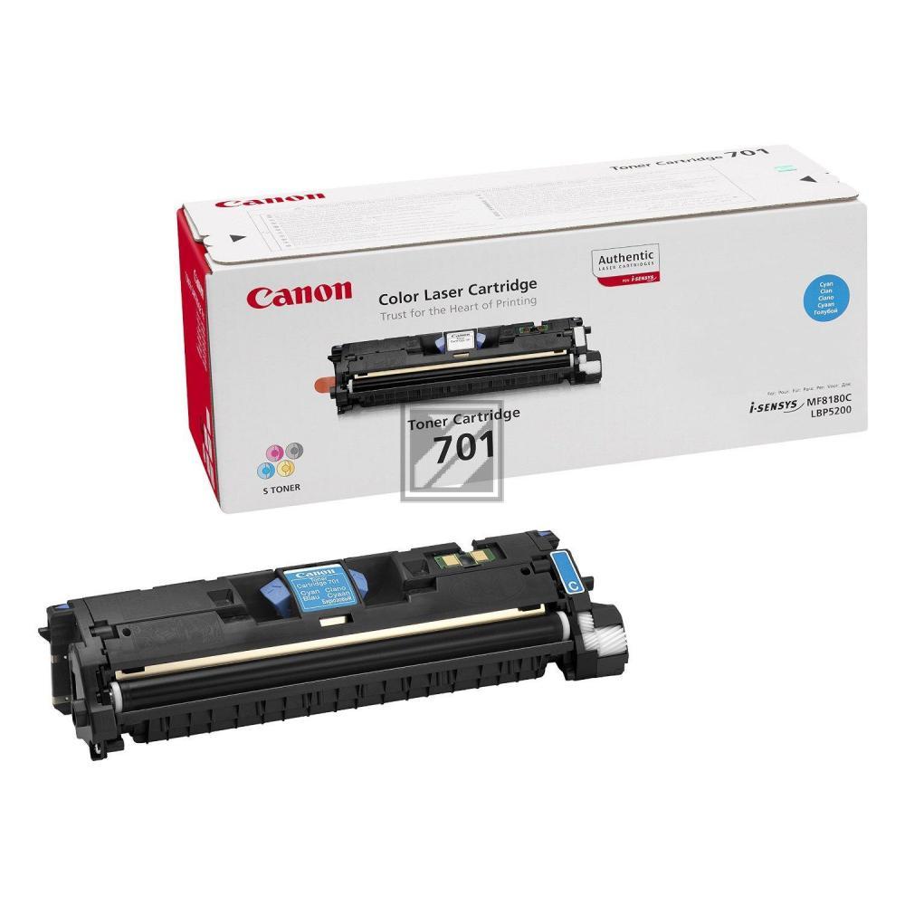 Canon Toner-Kit cyan HC (9286A003, CL-701C EP-701C)