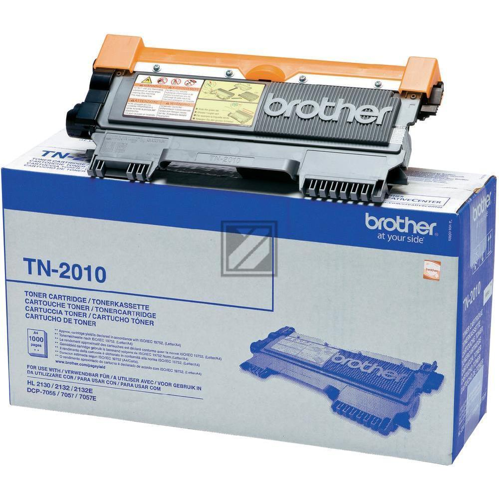 Brother Toner-Kit schwarz (TN-2010)