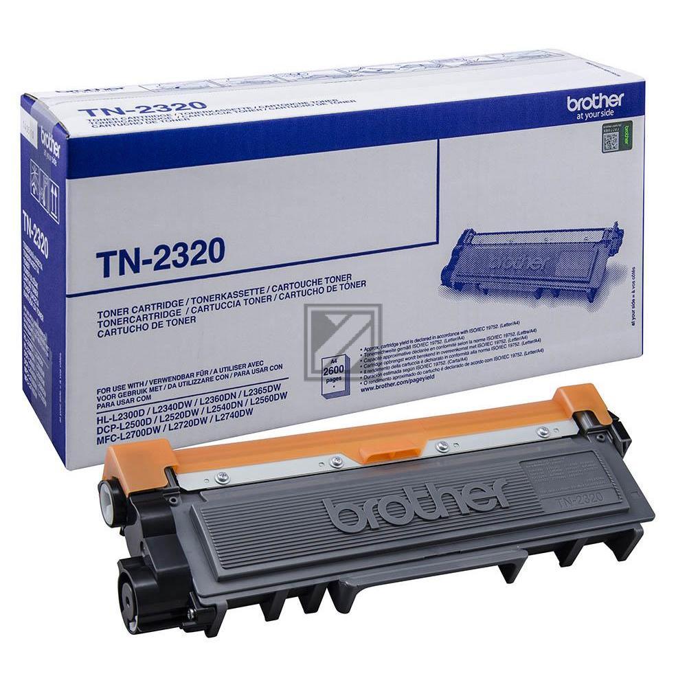 ORIGINAL Brother Toner schwarz TN-2320 ~2600 Seiten