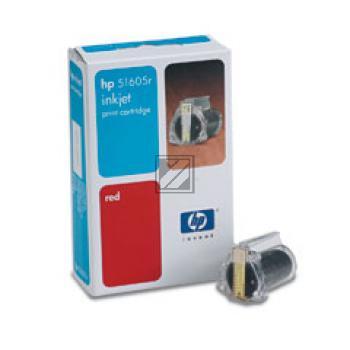 HP Tintendruckkopf rot (51605R)