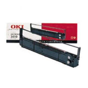 OKI Farbband Nylon schwarz (09002308)