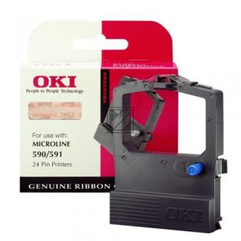 OKI Farbband Nylon Reink schwarz (09002316)