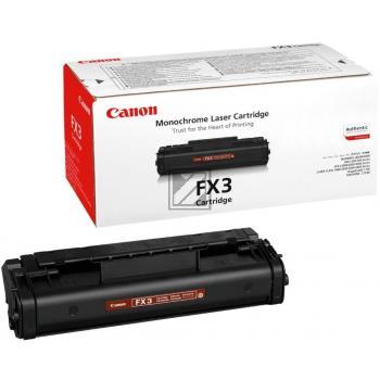 Canon Toner-Kartusche schwarz (1557A003, FX-3)