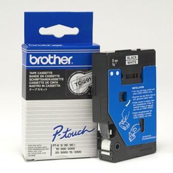Brother Schriftbandkassette schwarz/weiß (TC-291)