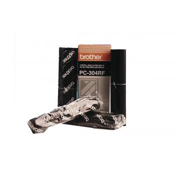 Brother Thermo-Transfer-Rolle 4 x schwarz 4-er Pack (PC-304RF)