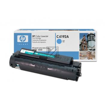 HP Toner-Kit cyan (C4192A, 640A)