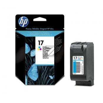 HP Tintenpatrone cyan/gelb/magenta (C6625AE, 17)
