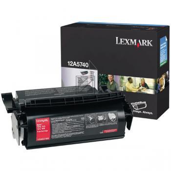 Lexmark Toner-Kartusche schwarz (12A5740)