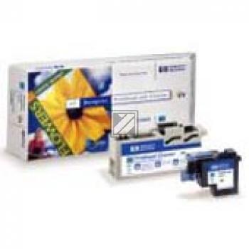HP Tintendruckkopf Tintendruckkopf Reiniger UV-Tintensystem cyan (C4961A, 83)