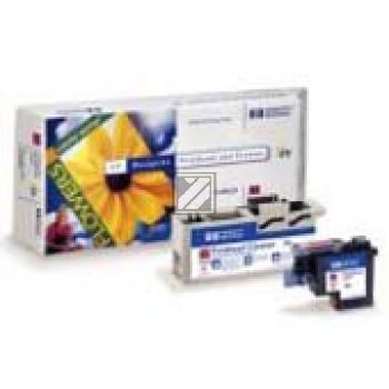 HP Tintendruckkopf Tintendruckkopf Reiniger UV-Tintensystem magenta (C4962A, 83)