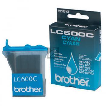 Brother Ink-Cartridge cyan (LC-600C)