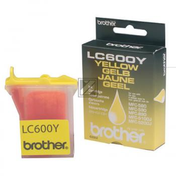 Brother Ink-Cartridge yellow (LC-600Y)