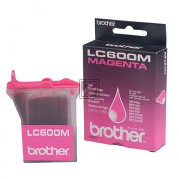 Brother Ink-Cartridge magenta (LC-600M)