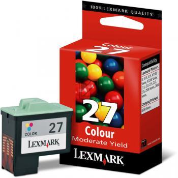 Lexmark Ink-Printhead colored (10N0227, 27)