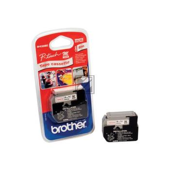Brother Tape Cassette red/white (M-K222)