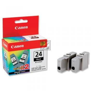 Canon Ink-Cartridge 2 x black 2 Pack (6881A009, BCI-24BK/TWIN)