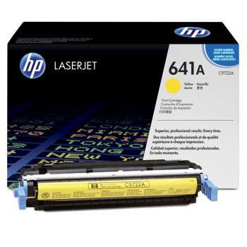 HP Toner-Cartridge yellow (C9722A, 641A)