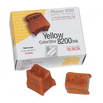 Xerox Colorstix 2 x yellow (016-2043-00)