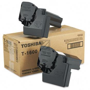 Toner f. Toshiba E-Studio 160 [T-1600] 2er VE black