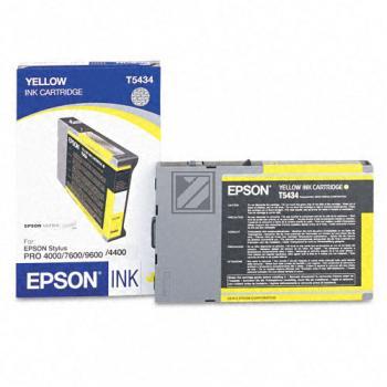 Epson Tintenpatrone Ultra Chrome gelb (C13T613400, T6134)