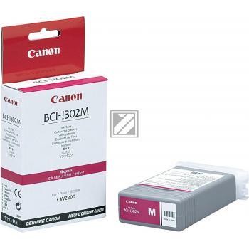 Tinte f. Canon imagePROGRAF W2200 [Bci-1302M] magenta