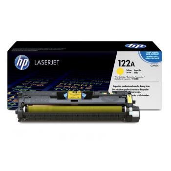 HP Toner-Kartusche gelb HC (Q3962A, 122A)