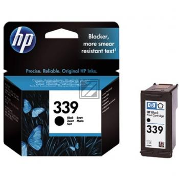HP Tintenpatrone schwarz HC (C8767EE, 339)