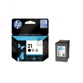 HP Tintendruckkopf schwarz HC (C9351AE#UUS, 21)