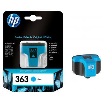 HP Tintenpatrone cyan (C8771EE#UUS, 363)