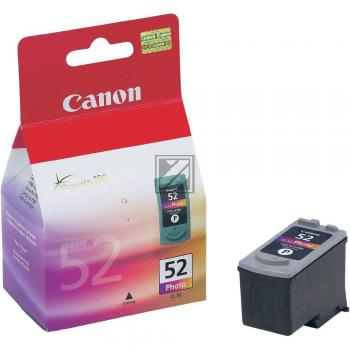Canon Tintenpatrone Photo-Tinte farbig (0619B001, CL-52)