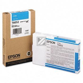 Epson Tintenpatrone Ultra Chrome K3 cyan (C13T605200, T6052)