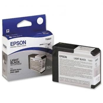 Epson Tintenpatrone Ultra Chrome K3 schwarz light (C13T580700, T5807)