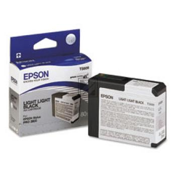 Epson Tintenpatrone Ultra Chrome K3 schwarz light, light (C13T580900, T5809)