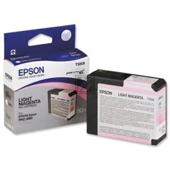 Epson Tintenpatrone Ultra Chrome K3 magenta light (C13T580600, T5806)