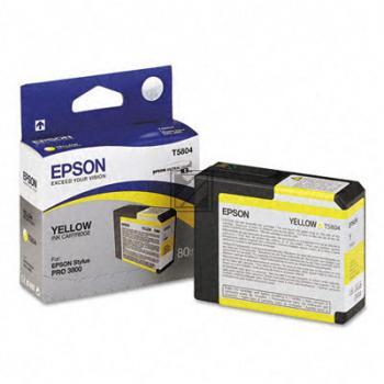 Epson Tintenpatrone Ultra Chrome K3 gelb (C13T580400, T5804)