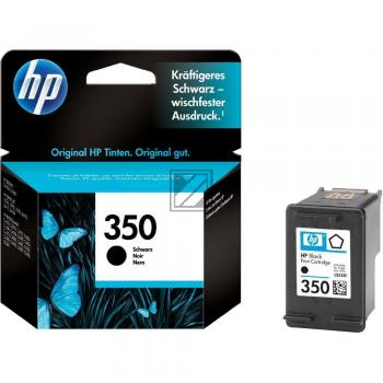 HP Tintenpatrone schwarz (CB335EE, 350)