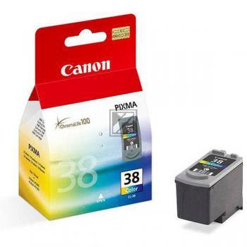 Canon Tintenpatrone cyan/gelb/magenta (2146B001, CL-38)