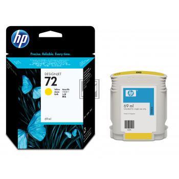 HP Tintenpatrone gelb (C9400A, 72)