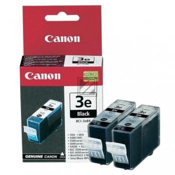 Canon Tintenpatrone 2x schwarz 2-er Pack (4479A028, 2x BCI-3EBK)