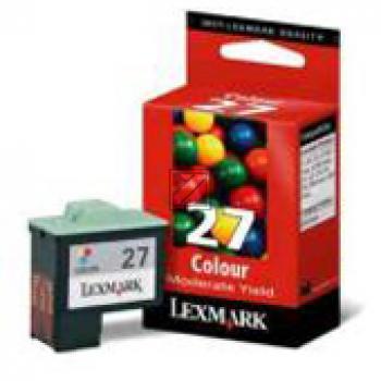 Lexmark Tintendruckkopf cyan/gelb/magenta HC (10NX227E, 27)