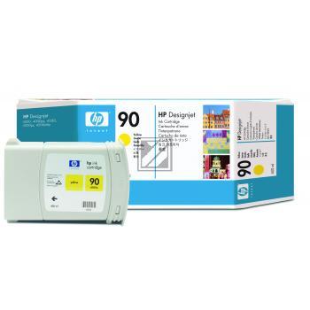 HP Tintenpatrone gelb HC (C5065A, 90)